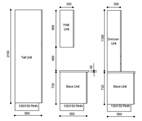 Width Of Kitchen Units by Kitchen Enchanting Standard Kitchen Cabinet Height And