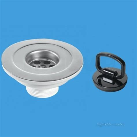 Fitting Kitchen Sink Waste Mcalpine 113mm Reducer Kitchen Sink Waste With 39000069 Plumbers Mate Ltd