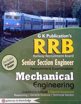 rrb mechanical engineering books pdf free rrb senior section engineer recruitment book for