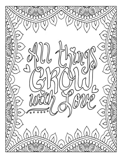 love quote mandala to color music quote words words 1241 best coloring pages words images on pinterest