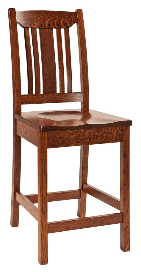 Mission Bar Stool by Grant Mission Bar Stool From Dutchcrafters Amish Furniture