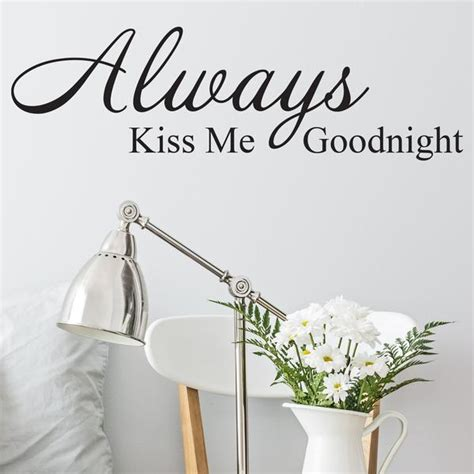 always me goodnight wall stickers always me goodnight wall sticker wallstickers co uk