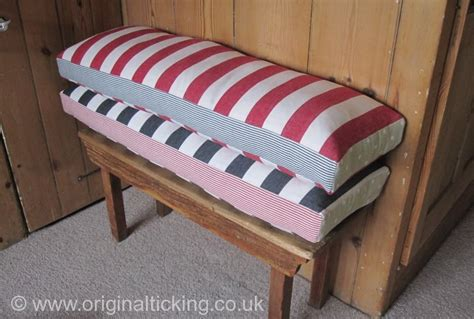 bench seat pads uk bespoke handmade bench and window seat cushions