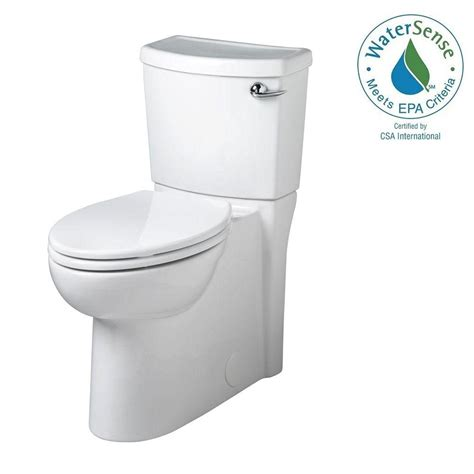 american standard cadet 3 american standard cadet 3 flowise 2 1 28 gpf elongated toilet with seat and concealed