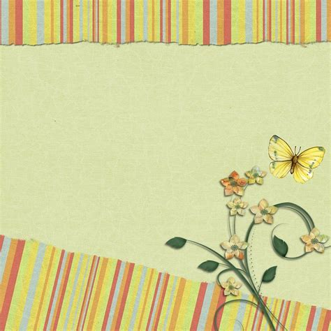 scrapbook backgrounds greens free illustration scrapbook background page yellow
