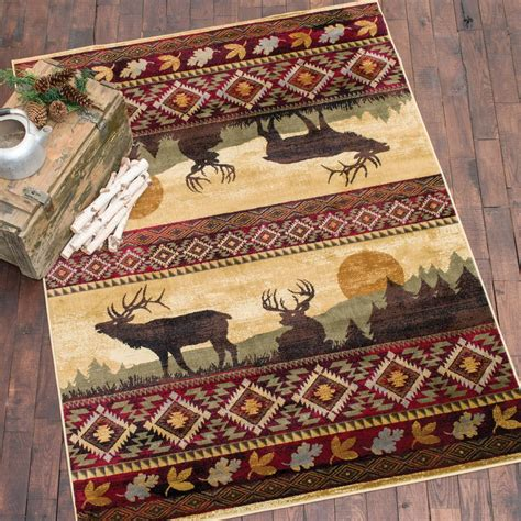 elk rugs for sale nature elk rug 8 x 11