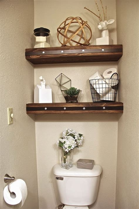 decorating ideas for bathroom shelves best 25 shelves toilet ideas on toilet