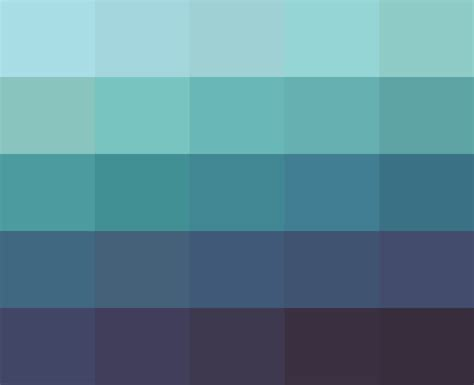 deep greens and blues are the colors i choose deep sea palette by hoecrux on deviantart