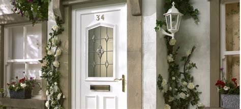 B And Q Front Door Carolina White Pvcu Glazed External Front Door Frame Rh H 2055mm W 920mm Departments