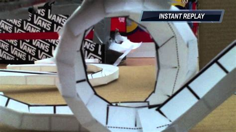 How To Make A Roller Coaster Loop Out Of Paper - zig zag loop paper marble run