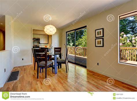 Bright dining room