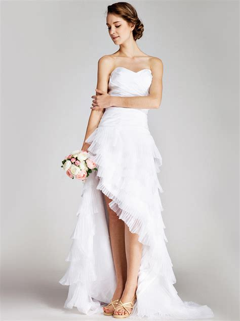 whiteazalea high low dresses high low wedding dresses