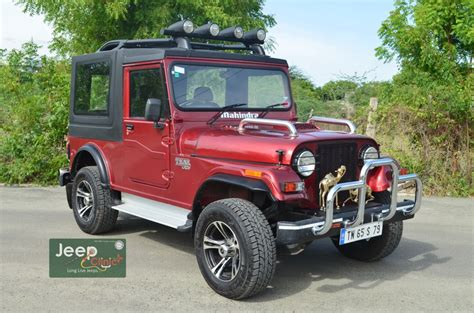 June 2014 Mahindra Thar Bolero Customization