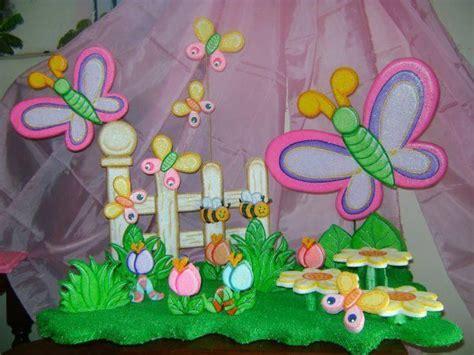 chupetera de fantasia chupetera de anime de flores y mariposas decoraciones fiestas infantiles
