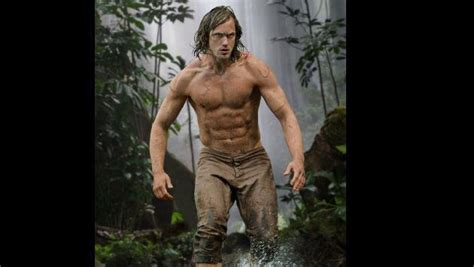 actress in tazan does not know where tarzan goes 161 mira c 243 mo luc 237 a alexander skarsg 229 rd el actor que encarna