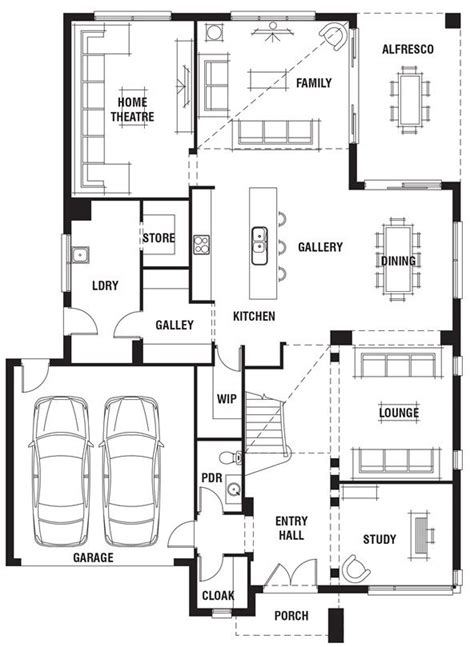 porter davis homes floor plans 173 best images about decor house plans on pinterest