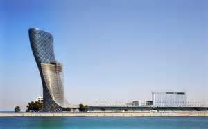 Abu Dhabi Capital Gate Abu Dhabi Photos E Architect