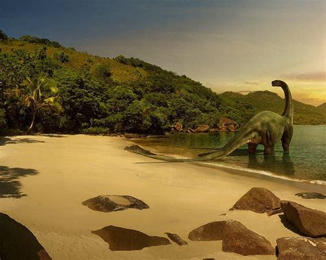 Landscape Pictures With Animals Dinosaurs Animals Dinosaur Landscape Nature 126181