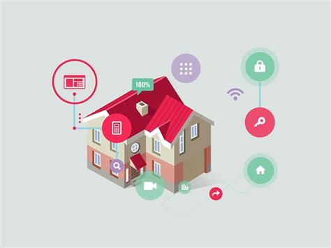 smart home icon by egor kosten dribbble