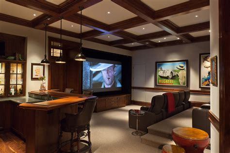 Livingroom Theatres Gorgeous Elevated Toilet Seat In Home Theater Traditional