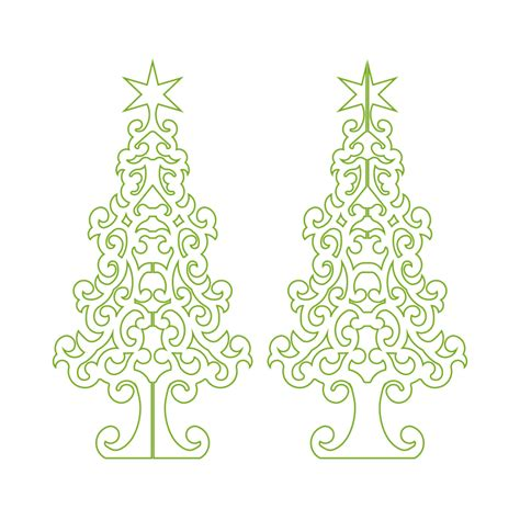 christmas dxf free tree dxf decore