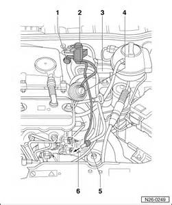 Vw Brake System Diagram Volkswagen Workshop Manuals Gt Polo Mk3 Gt Power Unit Gt 4