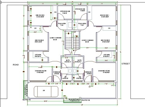 how to make floor plans using autocad escortsea house plan in autocad drawing bibliocad with cad drawing