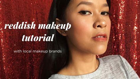 Makeup Makeover Indonesia reddish look makeup tutorial for skin kulit sawo