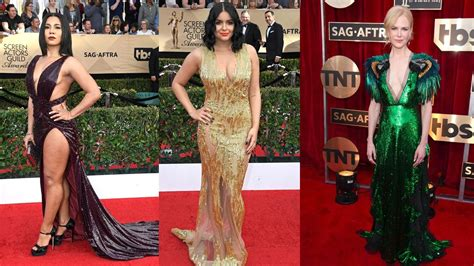 Ho Ho Horrible The Worst In Attire by 10 Worst Dressed At Sag Awards 2017