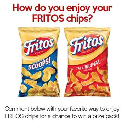 Frito Lay Sweepstakes - frito lay national corn chip day facebook sweepstakes thrifty momma ramblings