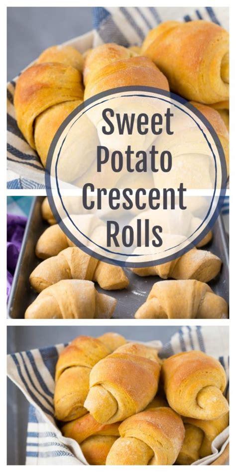Scrumptious Sweet Rolls by Scrumptious Sweet Potato Crescent Rolls Healthy Ideas