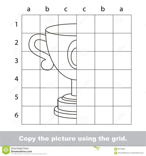 tutorial vector simple drawing tutorial for kids stock vector image of draw