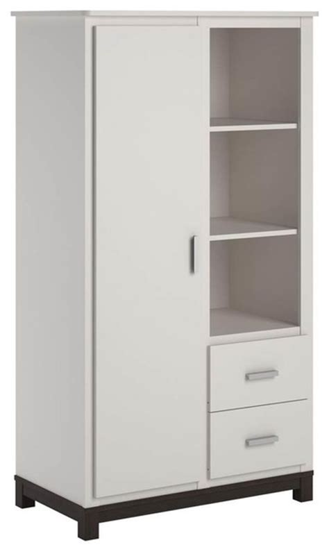 white kids armoire kids armoire white finish contemporary armoires and wardrobes by shopladder
