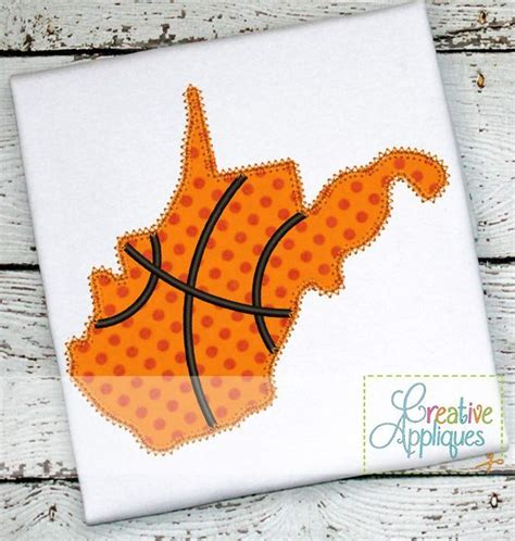 design west embroidery west virginia basketball applique creative appliques
