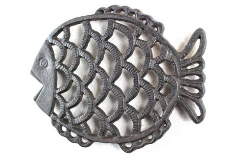 Cast Iron Decor by Buy Cast Iron Big Fish Trivet 8 Inch Wholesale Sea