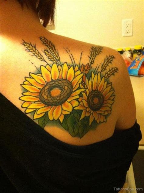 sunflower designs for tattoos flower tattoos designs pictures page 40
