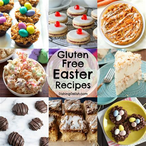 printable easter recipes 13 gluten free easter recipes dishing delish