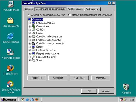 mettre un post it sur le bureau installer windows 98se partie 4