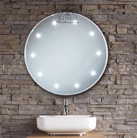 Round LED Bathroom Mirror   Modern   Bathroom Mirrors
