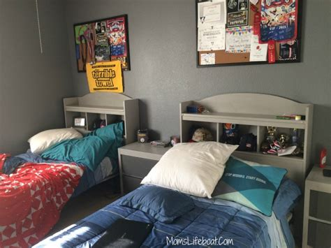 headboard ideas for boys tween boys bedroom budget friendly diy transformation