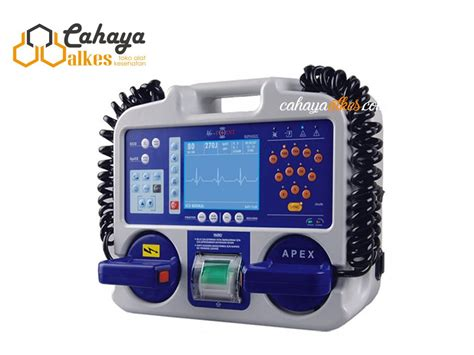 Alkes Aed biphasic semi automatic external defibrillator with monitor metsis cahaya alkes