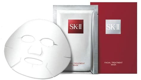 Sk Ii Treatment Mask Pcs 9 sheet masks so saturated with goodness they could possibly replace your monthly