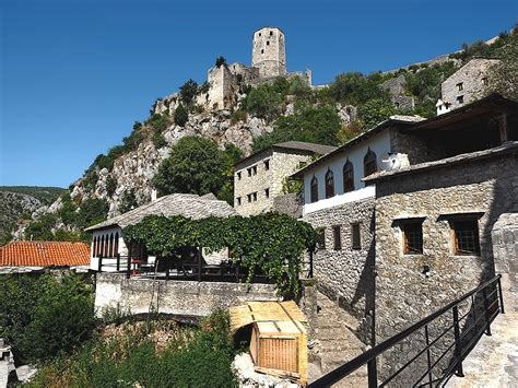 PHOTO: Historic Town of Pocitelj, Bosnia Herzegovina