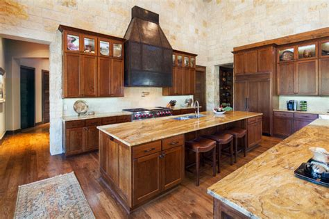 hill kitchen design hill country custom home rustic kitchen austin by