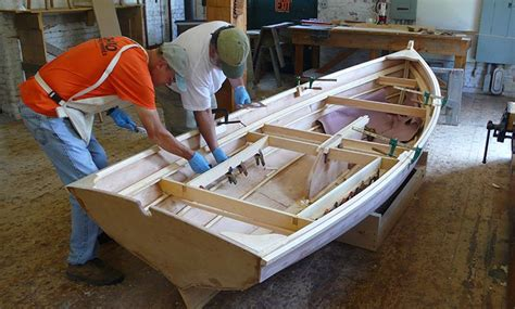 how to build a boat for school the woodenboat school