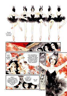 Swan Prayer 1 2 End By Kyoko Ariyoshi comics on swans arabesque and posts