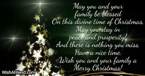 christmas message  family festival collections