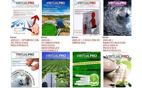 revista virtualpro login convocatoria para la publicaci 243 n de trabajos in 233 ditos en