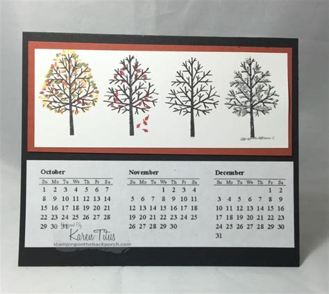 How To Make Handmade Calendar - handmade calendar gift idea karentitus