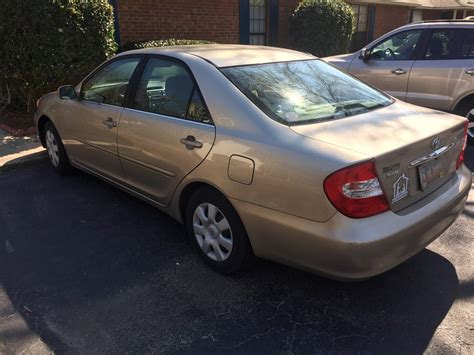 Toyota Camry 2002 For Sale 2002 Toyota Camry Le For Sale By Owner In Goose Creek Sc